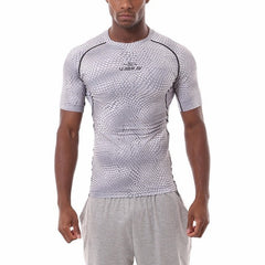 Serpentine Men's T-Shirt Fitness Jerseys, White / XXL, White, XXL, [option3] - anythinganyware