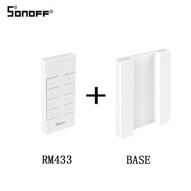 Gang 86 Type Wall Touch Switch Smart Home, RM433 Add Base, RM433 Add Base, [option2], [option3] - anythinganyware
