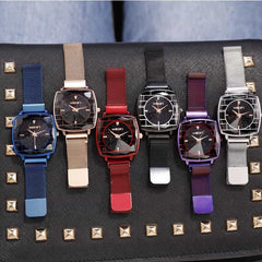 Square Women Wrist Watches, [variant_title], [option1], [option2], [option3] - anythinganyware