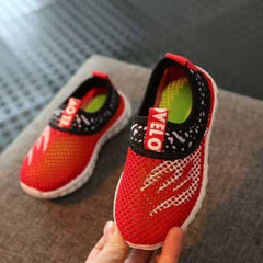 Summer Boys Girls Running Shoes Kids Sneakers, Red / 5.5, Red, 5.5, [option3] - anythinganyware