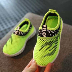 Summer Boys Girls Running Shoes Kids Sneakers, Green / 9, Green, 9, [option3] - anythinganyware
