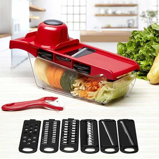 Vegetable Cutter, China / the red with box, China, the red with box, [option3] - anythinganyware