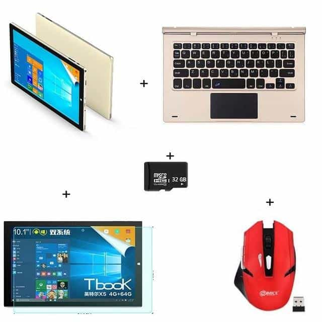 Teclast Tbook10s Windows10+Android 5.1 Tablet PC, bundel4, bundel4, [option2], [option3] - anythinganyware