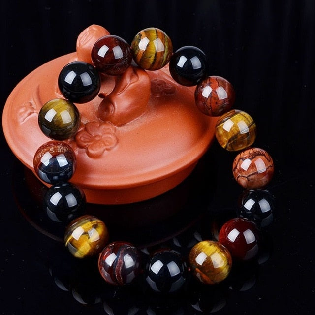 New Tiger Eye  Elegant Collar Gifts Buddha Bracelets, as pic11, as pic11, [option2], [option3] - anythinganyware