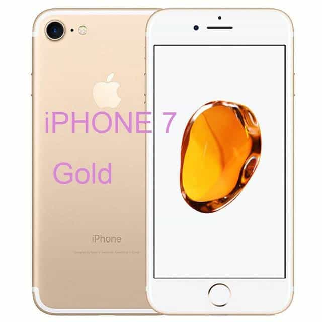 Unlocked Original Apple iPhone 7 / iPhone 7 Plus, 256GB / iphone 7 Gold, 256GB, iphone 7 Gold, [option3] - anythinganyware