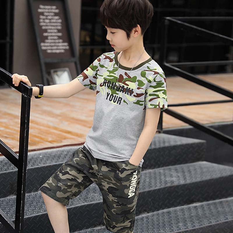 Vetement Enfant Boy Tracksuit Clothes Set, [variant_title], [option1], [option2], [option3] - anythinganyware