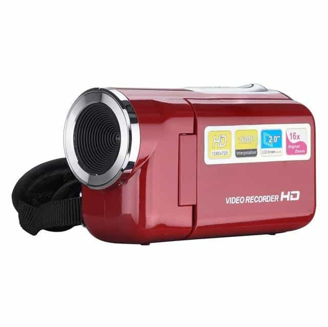 Video Camcorder HD 720P Handheld 16 Million Pixels Digital Camera, B, B, [option2], [option3] - anythinganyware