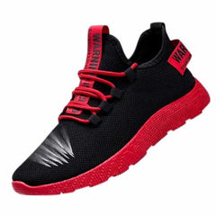 WENYUJH Summer Black Men Vulcanize Shoes, Red B / 40, Red B, 40, [option3] - anythinganyware