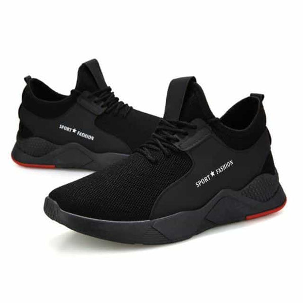 WENYUJH Summer Black Men Vulcanize Shoes, Black A / 41, Black A, 41, [option3] - anythinganyware