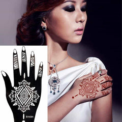 Waterproof 2Pcs/1 Set Temporary Tattoo Sticker Body Art, [variant_title], [option1], [option2], [option3] - anythinganyware