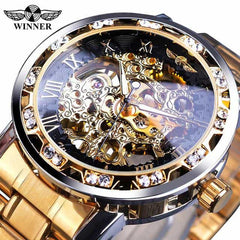 Transparent Fashion Diamond Display  Wrist Watches, S1089-8, S1089-8, [option2], [option3] - anythinganyware