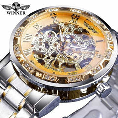 Transparent Fashion Diamond Display  Wrist Watches, S1089-5, S1089-5, [option2], [option3] - anythinganyware
