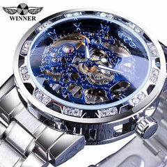 Transparent Fashion Diamond Display  Wrist Watches, S1089-7, S1089-7, [option2], [option3] - anythinganyware