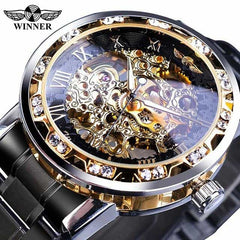 Transparent Fashion Diamond Display  Wrist Watches, S1089-9, S1089-9, [option2], [option3] - anythinganyware