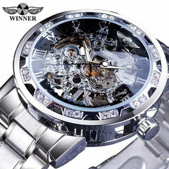 Transparent Fashion Diamond Display  Wrist Watches, S1089-6, S1089-6, [option2], [option3] - anythinganyware