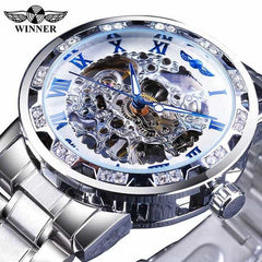 Transparent Fashion Diamond Display  Wrist Watches, S1089-3, S1089-3, [option2], [option3] - anythinganyware