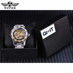 Transparent Fashion Diamond Display  Wrist Watches, [variant_title], [option1], [option2], [option3] - anythinganyware