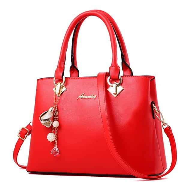 Women Bag Vintage Handbag Casual, Red / (30cm<Max Length<50cm), Red, (30cm<Max Length<50cm), [option3] - anythinganyware