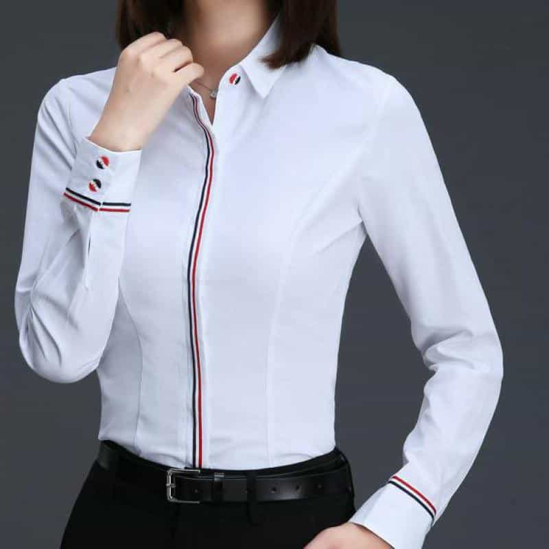 Women Business Blouse, XL, XL, [option2], [option3] - anythinganyware