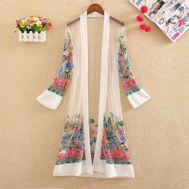 Women Shirts Tops Casual Floral Printed Blouse Tops Shirt, White / One Size, White, One Size, [option3] - anythinganyware
