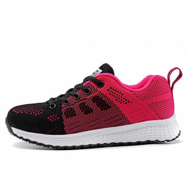 Women Shoes 2019 White Sneakers, Rose Red / 8.5, Rose Red, 8.5, [option3] - anythinganyware