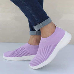 Shoes Knitting Sock Sneakers, Purple / 8.5, Purple, 8.5, [option3] - anythinganyware