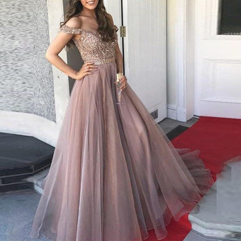 Women   Wedding Bridesmaid party Dress, [variant_title], [option1], [option2], [option3] - anythinganyware
