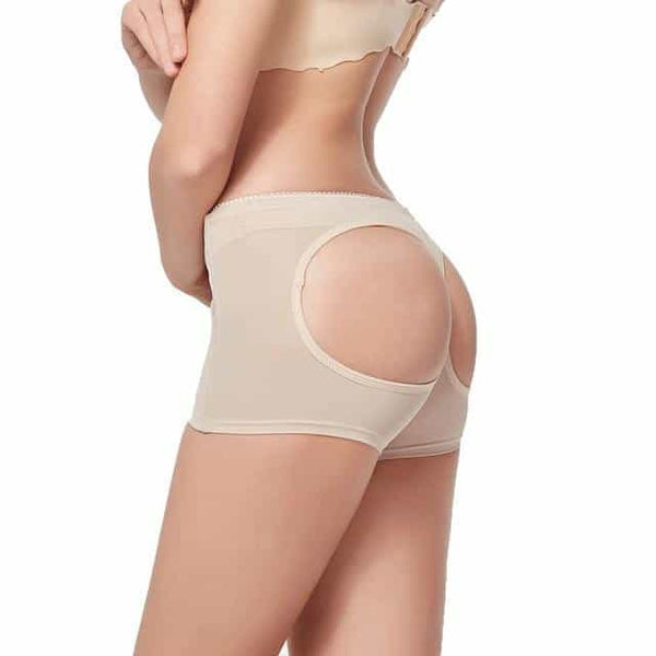 Womens Butt Lifter Panties Tummy Control Seamless, Beige / XL, Beige, XL, [option3] - anythinganyware