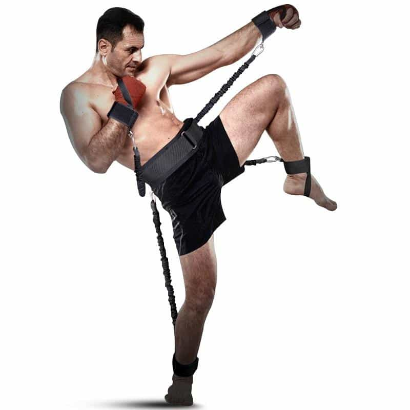 Workout Power 140lbs Resistance Band Boxing, [variant_title], [option1], [option2], [option3] - anythinganyware