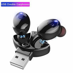Bluetooth 5.0 Earphone Stereo Wireless Earbus, F / China, F, China, [option3] - anythinganyware