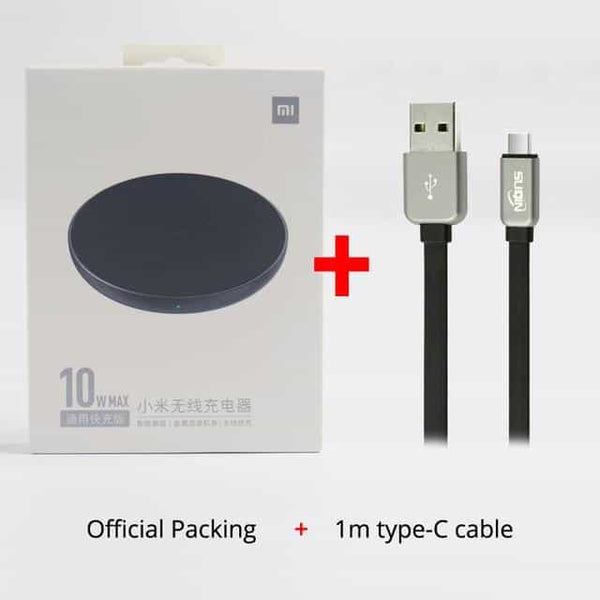 Xiaomi Wireless Charger Qi Smart Quick Charge, Spain / dark blue colour / w typeC cable, Spain, dark blue colour, w typeC cable - anythinganyware