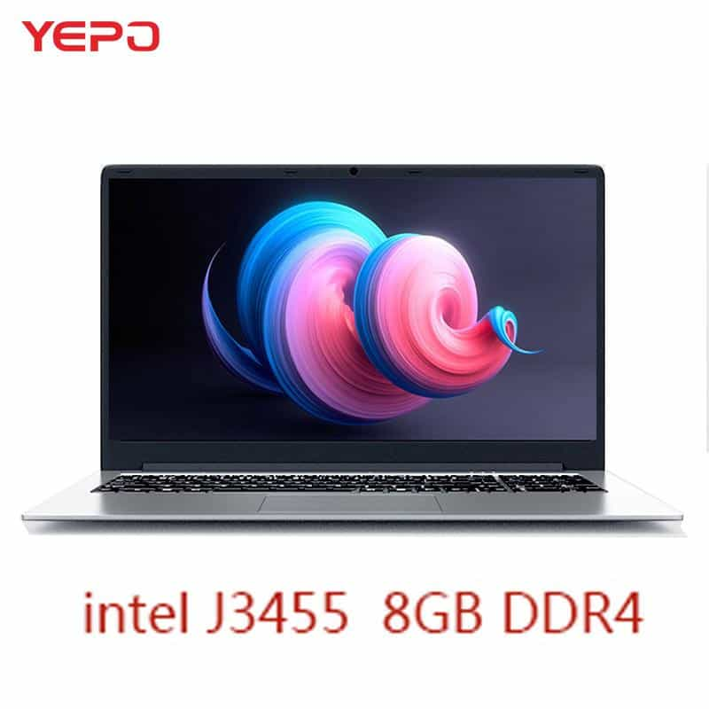 YEPO Notebook Computer 15.6 inch 8GB RAM DDR4 256GB/512GB SSD 1TB HDD, [variant_title], [option1], [option2], [option3] - anythinganyware