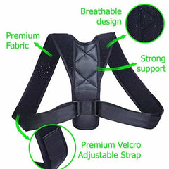 Back Posture Corrector Clavicle Spine Back Shoulder Lumbar Posture Correction, [variant_title], [option1], [option2], [option3] - anythinganyware