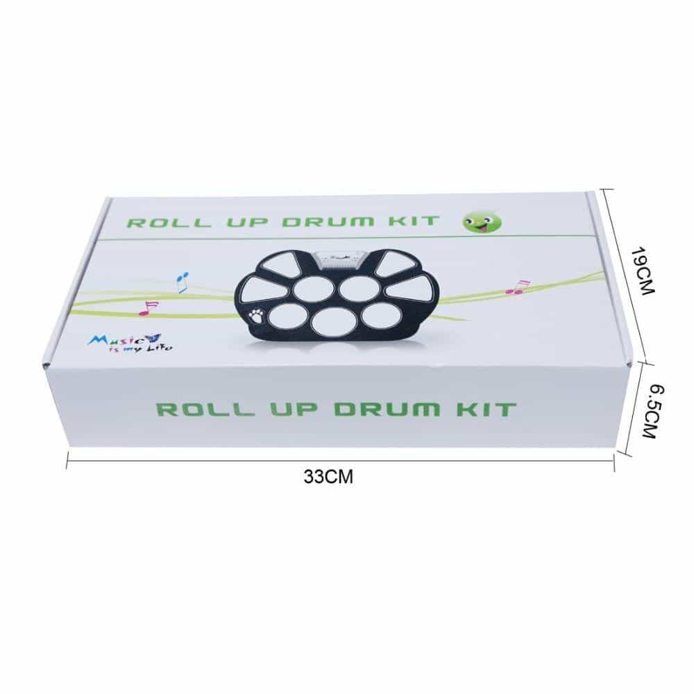 Professional Roll up Drum Pad Kit, [variant_title], [option1], [option2], [option3] - anythinganyware