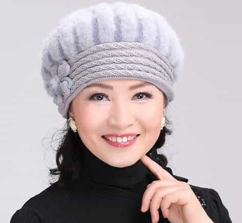 beautiful women winter fur hat cap, as picture, as picture, [option2], [option3] - anythinganyware