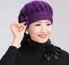 beautiful women winter fur hat cap, as picture3, as picture3, [option2], [option3] - anythinganyware
