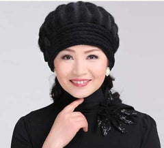 beautiful women winter fur hat cap, as picture2, as picture2, [option2], [option3] - anythinganyware