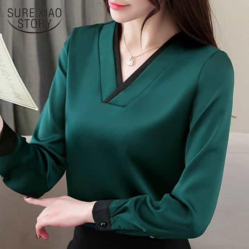 spring long sleeve women shirts, [variant_title], [option1], [option2], [option3] - anythinganyware