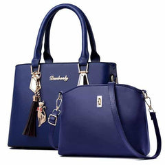 women bag Fashion Casual Contain two packages, Sapphire blue, Sapphire blue, [option2], [option3] - anythinganyware