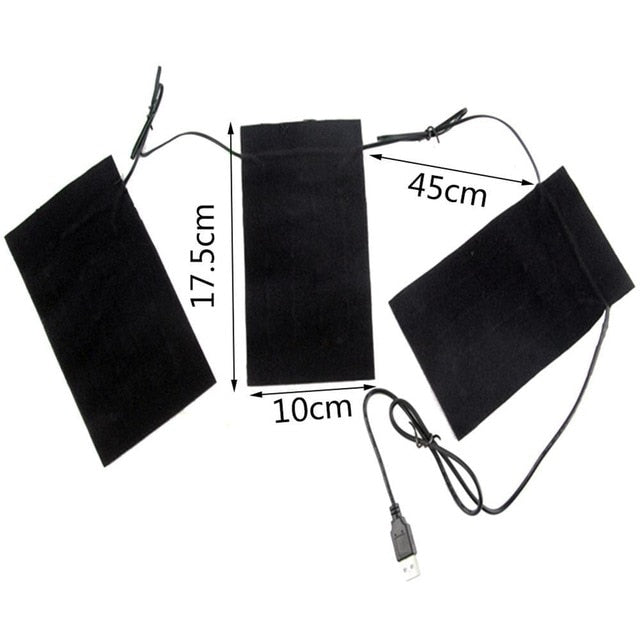 USB Chargeable Heating Pads 5V Carbon Fiber Heating Pad.