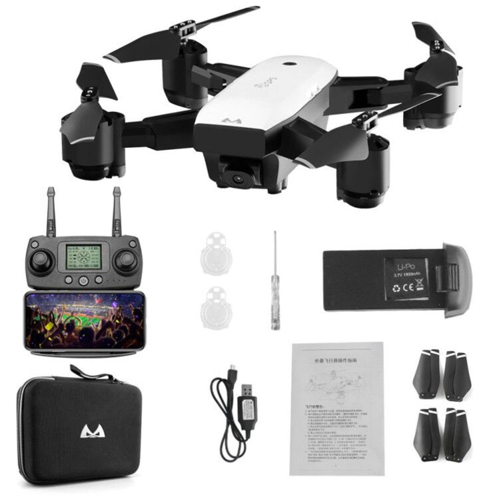 SMRC S20 6 Axles Gyro Mini GPS Drone With 110 Degree Wide Angle Camera 2.4G Altitude Hold