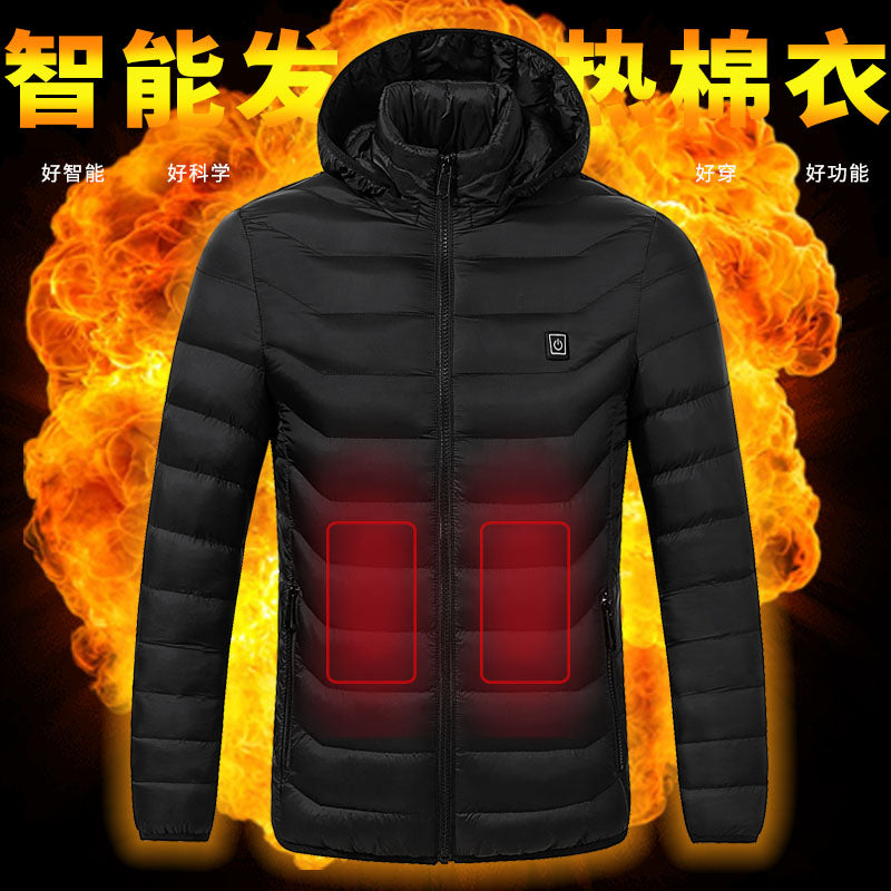 Men's and Women's Heated Jacket.