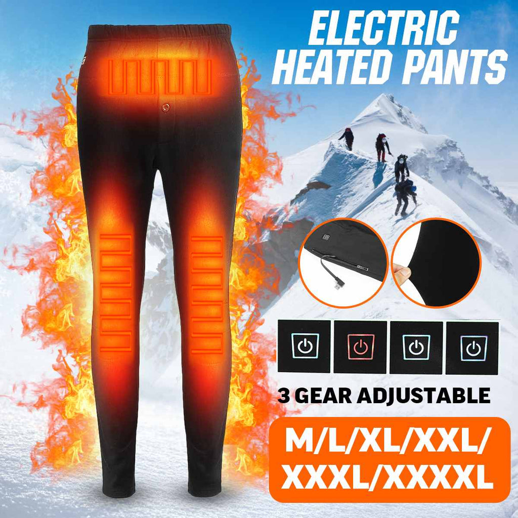 Men's & Women's USB re-chargeable Heated Pants.