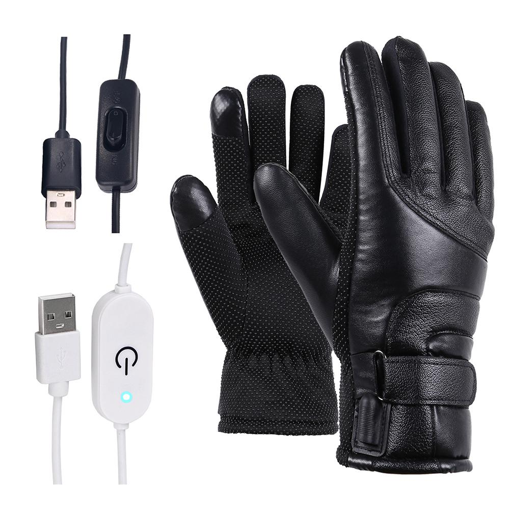 Heated USB Powered Gloves.