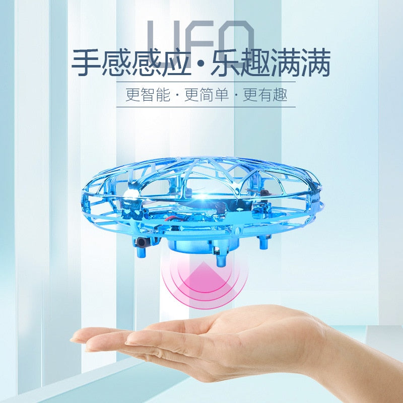 Gesture controlled Flying Saucer