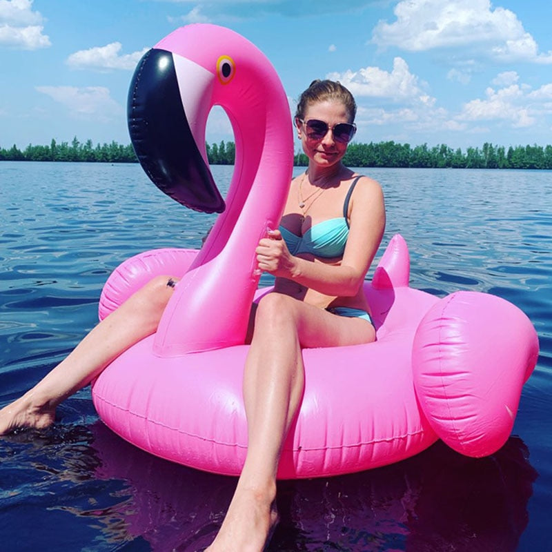 Giant Inflatable Flamingo (Swimming Pool Party)