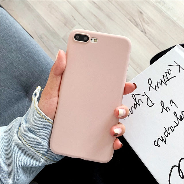 Soft Luxury TPU Case for iPhone