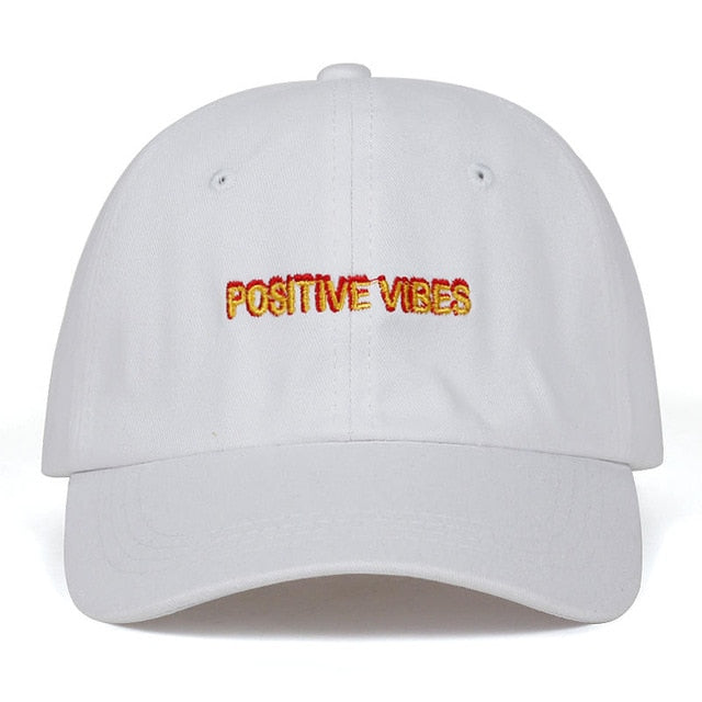 Positive Vibe Summer Hat (100% Cotton)