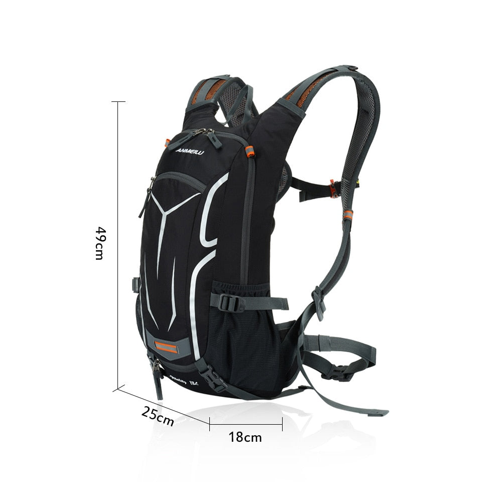 Ultralight Breathable Bicycle Bag with Rain Cover