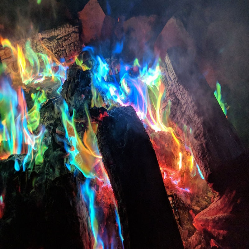 Magic Flames Colourful Fire